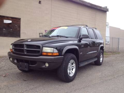2002 Dodge Durango for sale at TTT Auto Sales in Spokane WA