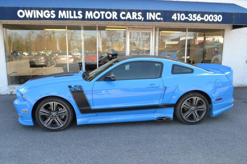 2014 Ford Mustang for sale at Owings Mills Motor Cars in Owings Mills MD