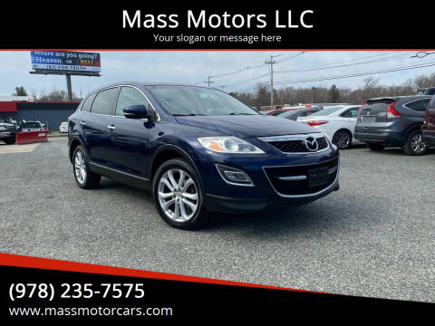 2012 Mazda CX-9 for sale at Mass Motors LLC in Worcester MA