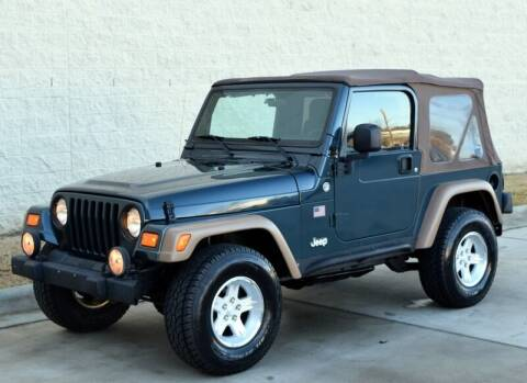 2006 Jeep Wrangler for sale at Raleigh Auto Inc. in Raleigh NC