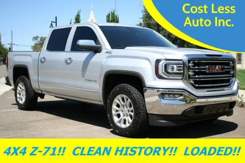 2016 GMC Sierra 1500 for sale at Cost Less Auto Inc. in Rocklin CA