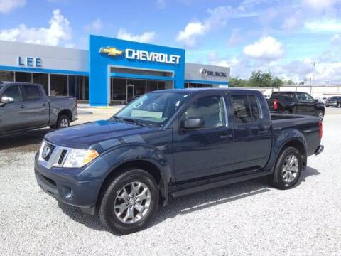 2020 Nissan Frontier for sale at LEE CHEVROLET PONTIAC BUICK in Washington NC