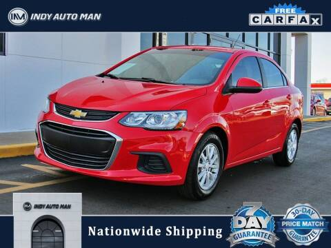 2018 Chevrolet Sonic for sale at INDY AUTO MAN in Indianapolis IN
