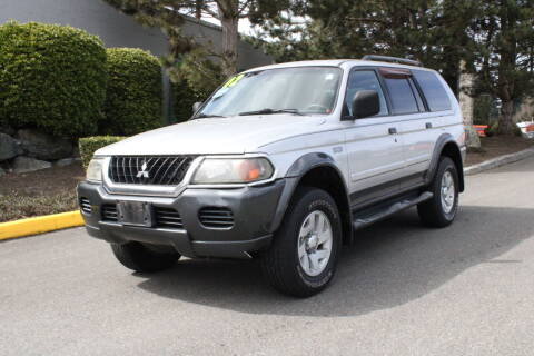 2002 Mitsubishi Montero Sport for sale at SS MOTORS LLC in Edmonds WA