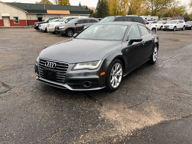 2013 Audi A7 for sale at Dean's Auto Sales in Flint MI