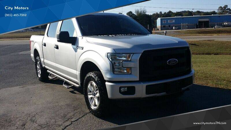 2015 Ford F-150 for sale at City Motors in Mascot TN