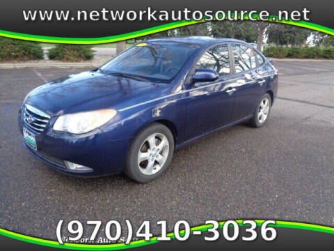 2010 Hyundai Elantra for sale at Network Auto Source in Loveland CO