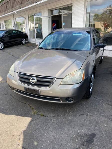 2004 Nissan Altima for sale at ENFIELD STREET AUTO SALES in Enfield CT