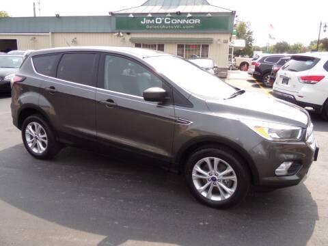 2017 Ford Escape for sale at Jim O'Connor Select Auto in Oconomowoc WI
