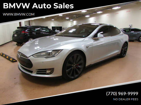 2014 Tesla Model S for sale at BMVW Auto Sales in Union City GA