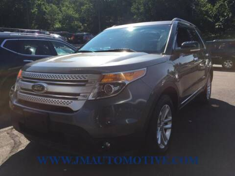 2014 Ford Explorer for sale at J & M Automotive in Naugatuck CT