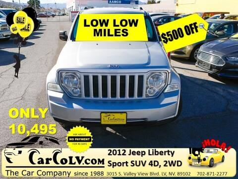 2012 Jeep Liberty for sale at The Car Company in Las Vegas NV