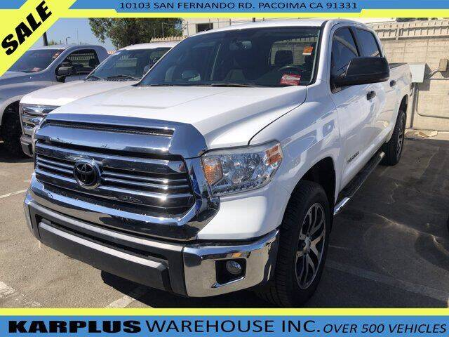 2017 Toyota Tundra for sale at Karplus Warehouse in Pacoima CA