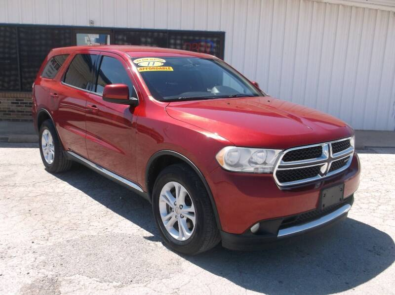 2011 Dodge Durango for sale at AUTO TOPIC in Gainesville TX