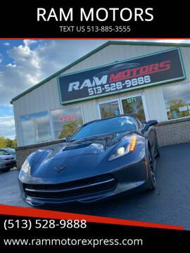 2014 Chevrolet Corvette for sale at RAM MOTORS in Cincinnati OH