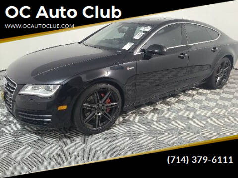 2014 Audi A7 for sale at OC Auto Club in Midway City CA
