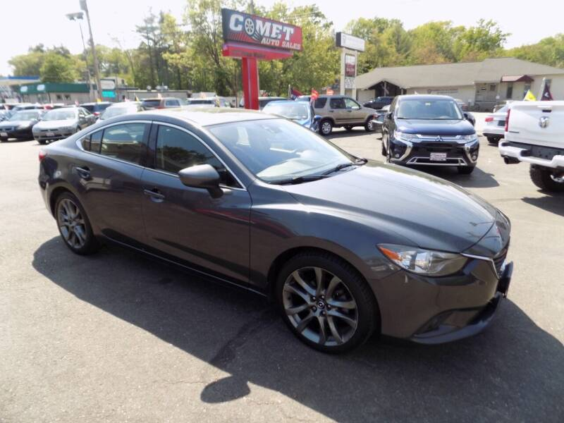 2015 Mazda MAZDA6 for sale at Comet Auto Sales in Manchester NH