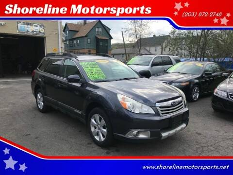 2011 Subaru Outback for sale at Shoreline Motorsports in Waterbury CT