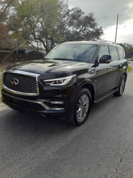 2018 Infiniti QX80 for sale at Royal Auto Mart in Tampa FL