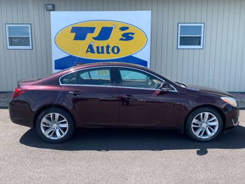 2017 Buick Regal for sale at TJ's Auto in Wisconsin Rapids WI