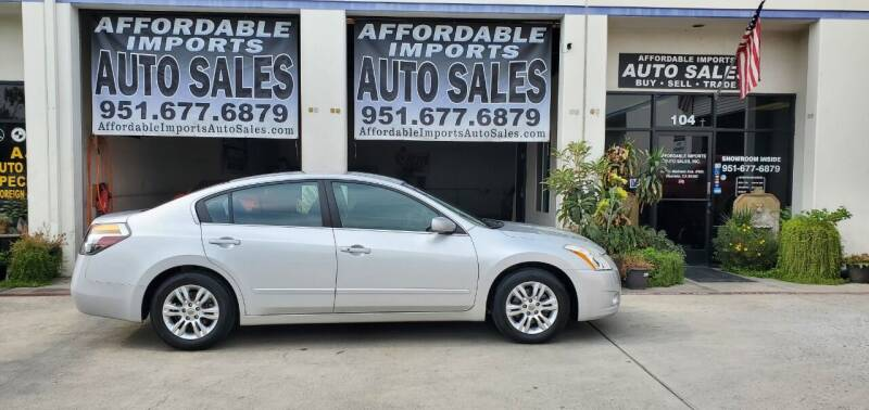 2012 Nissan Altima for sale at Affordable Imports Auto Sales in Murrieta CA
