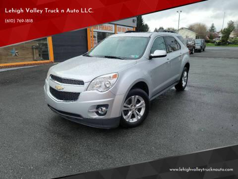 2015 Chevrolet Equinox for sale at Lehigh Valley Truck n Auto LLC. in Schnecksville PA