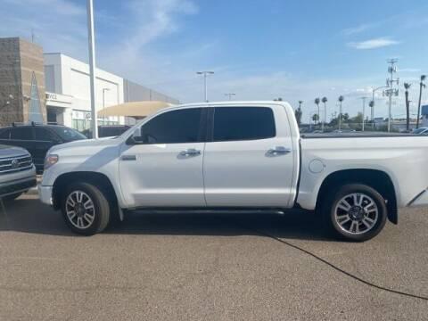 2019 Toyota Tundra for sale at Camelback Volkswagen Subaru in Phoenix AZ