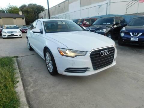2014 Audi A6 for sale at AMD AUTO in San Antonio TX