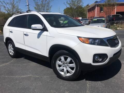 2013 Kia Sorento for sale at Town Square Motors in Lawrenceville GA