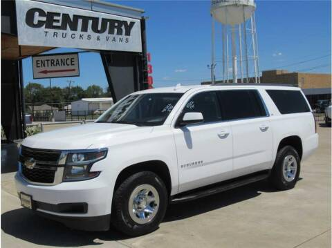 2015 Chevrolet Suburban for sale at CENTURY TRUCKS & VANS in Grand Prairie TX