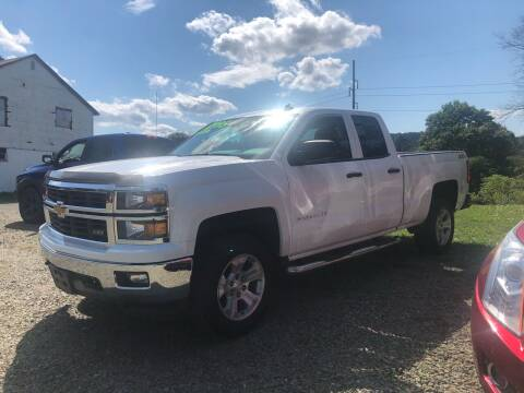 2014 Chevrolet Silverado 1500 for sale at Brush & Palette Auto in Candor NY