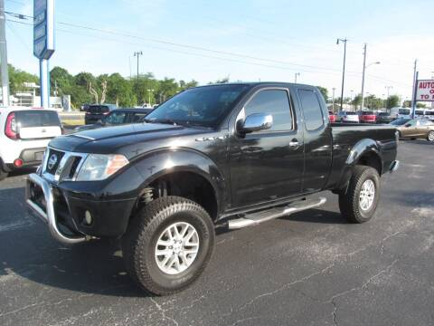 2015 Nissan Frontier for sale at Blue Book Cars in Sanford FL