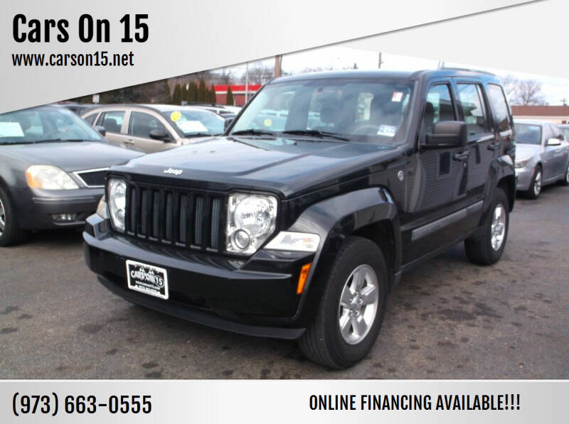 2012 Jeep Liberty for sale at Cars On 15 in Lake Hopatcong NJ