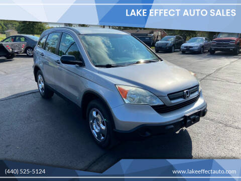2008 Honda CR-V for sale at Lake Effect Auto Sales in Chardon OH