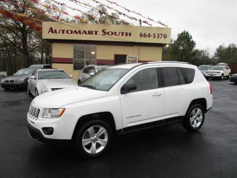 2012 Jeep Compass for sale at Automart South in Alabaster AL