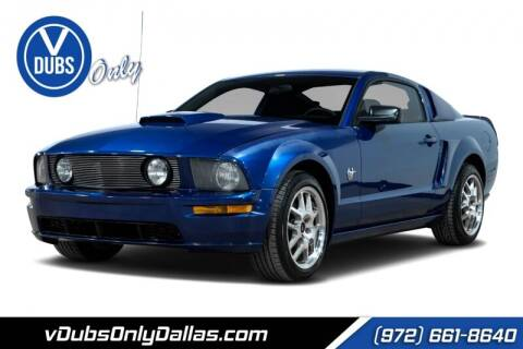 2009 Ford Mustang for sale at VDUBS ONLY in Dallas TX