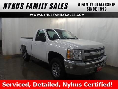 2012 Chevrolet Silverado 1500 for sale at Nyhus Family Sales in Perham MN
