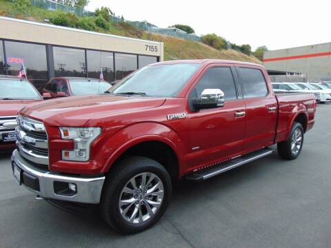 2017 Ford F-150 for sale at So Cal Performance in San Diego CA