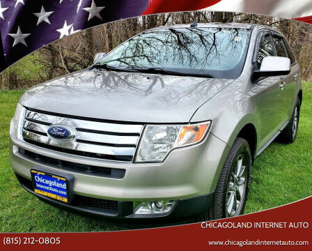 2008 Ford Edge for sale at Chicagoland Internet Auto - 410 N Vine St New Lenox IL, 60451 in New Lenox IL