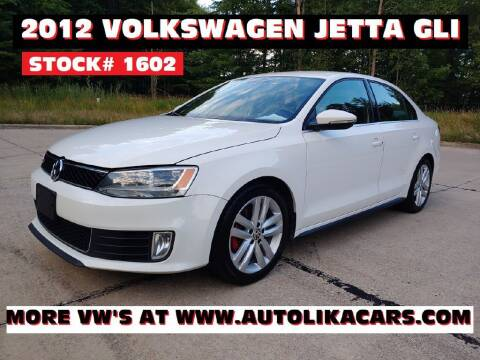 2012 Volkswagen Jetta for sale at Autolika Cars LLC in North Royalton OH