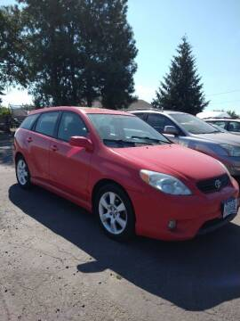 2005 Toyota Matrix for sale at M AND S CAR SALES LLC in Independence OR