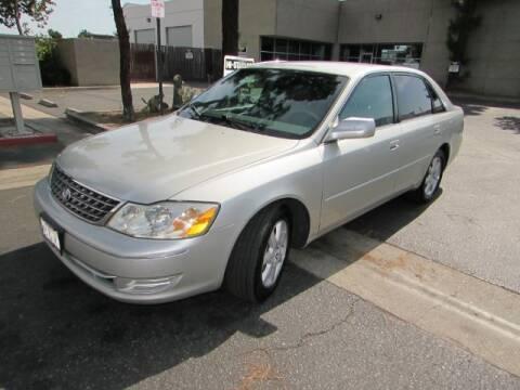 2003 Toyota Avalon for sale at Pennington's Auto Sales Inc. in Orange CA