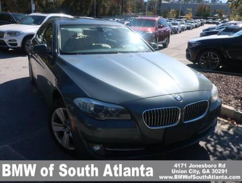 2013 BMW 5 Series for sale at Carol Benner @ BMW of South Atlanta in Union City GA