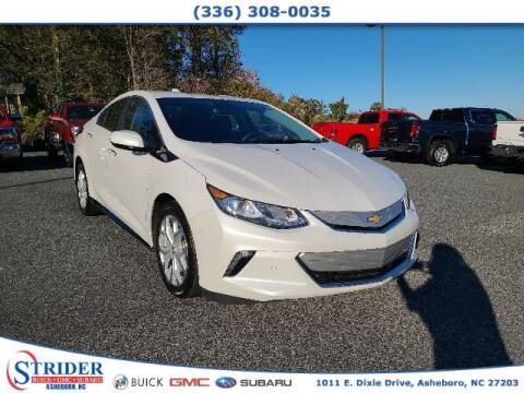 2017 Chevrolet Volt for sale at STRIDER BUICK GMC SUBARU in Asheboro NC
