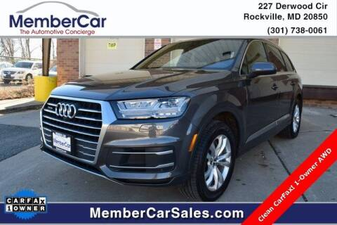 2019 Audi Q7 for sale at MemberCar in Rockville MD