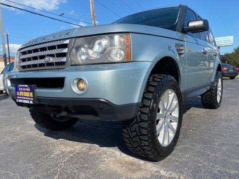 2006 Land Rover Range Rover Sport for sale at A-1 Auto Broker Inc. in San Antonio TX