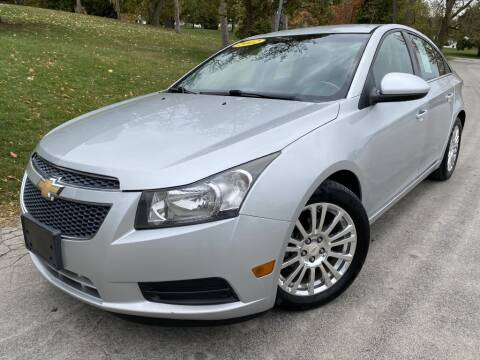 2012 Chevrolet Cruze for sale at Bloomington Auto Sales in Bloomington IL