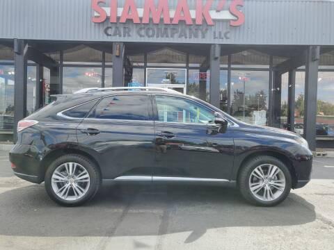 2015 Lexus RX 350 for sale at Siamak's Car Company llc in Salem OR
