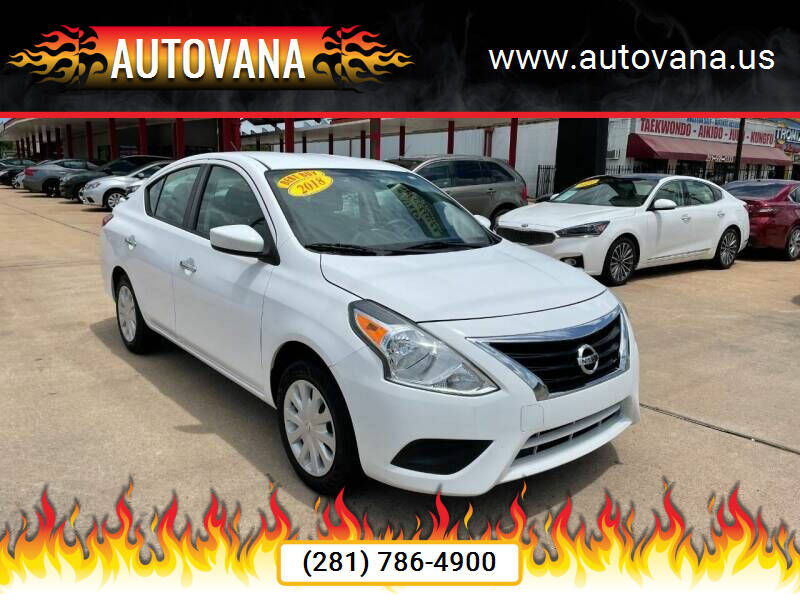 2018 Nissan Versa for sale at AutoVana in Humble TX