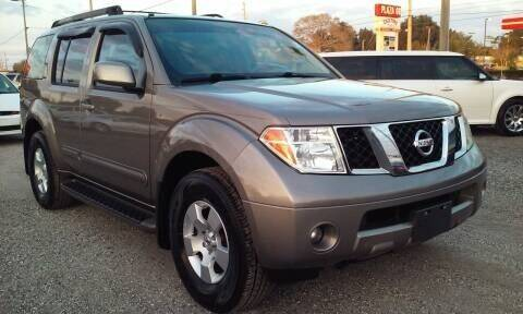 2007 Nissan Pathfinder for sale at Pinellas Auto Brokers in Saint Petersburg FL